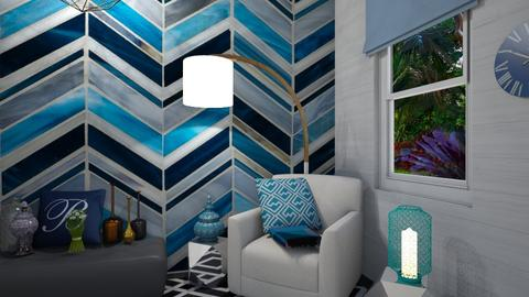 Geometric pattern LR - Living room - by LooseThreads