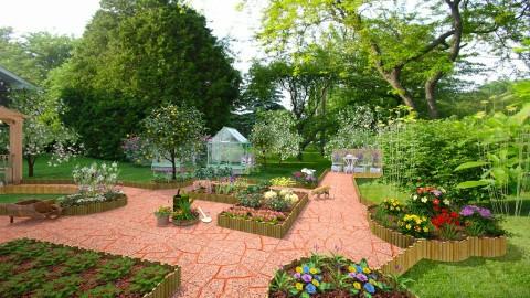 Garden Paradise - Garden - by Violetta V