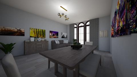 lux - Minimal - Dining room - by Ritus13