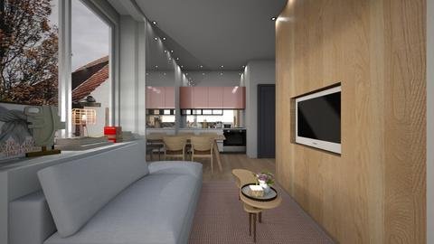 Casa357LivingAndDining - Modern - Living room - by nickynunes