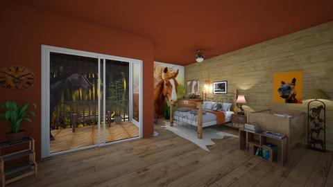 horse lover - Country - Bedroom - by evalackovic11