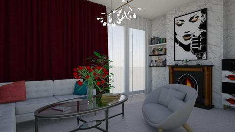 White Room - Classic - Living room - by colorful_eye