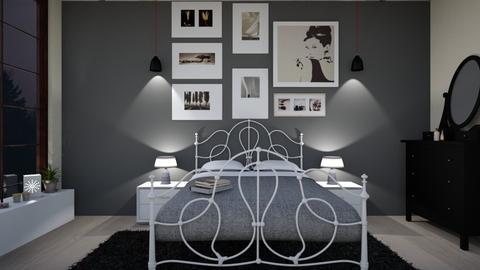 bedroom - Modern - Bedroom - by somooon15