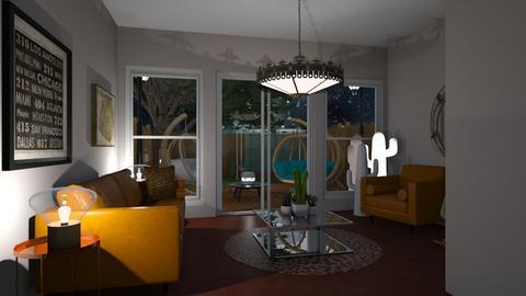Garden template - Living room - by nicolaswiggins