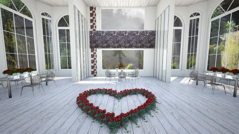 Dining room - Modern - Dining room - by linnda123222