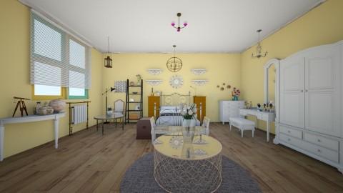 Antique - Vintage - Bedroom - by tina45