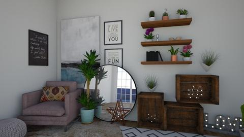 MIRROR mIrRoR on THE wAlL - Living room - by Life with Jenna