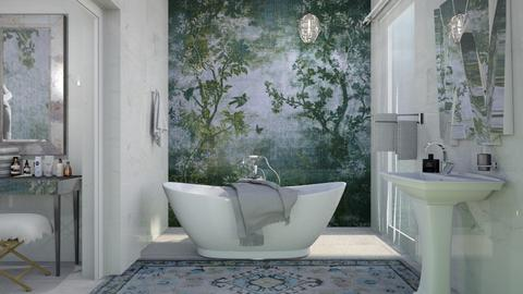 M_Mural - Bathroom - by milyca8
