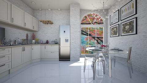 pink - Kitchen - by Senlisa