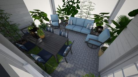 new patio2day1 - Garden - by jonesmandy