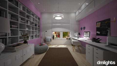 femenine office - Modern - Office - by DMLights-user-982918