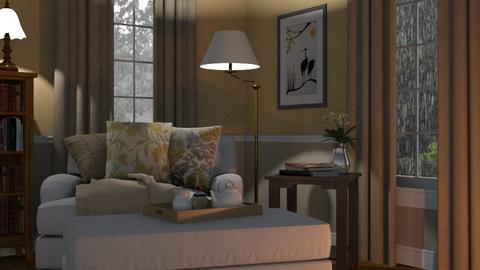 Big Chair - Living room - by GraceKathryn