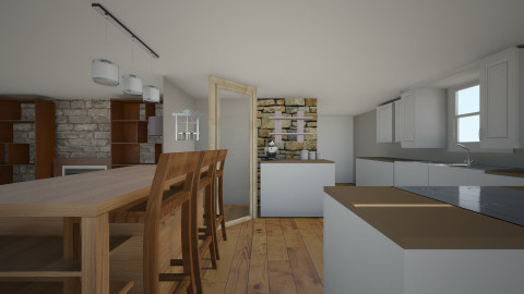Kitchen Remodel - Rustic - Kitchen - by micahsmom616