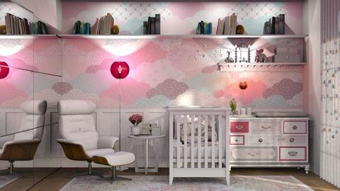 Pink Bedroom - by Mariana Gooliveira