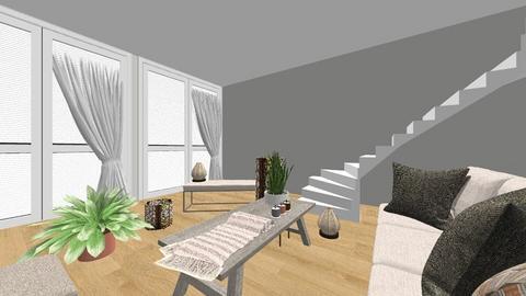 Urban living room  - Living room - by lashim