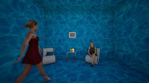 aquarium sitting room  - by brittanyburton