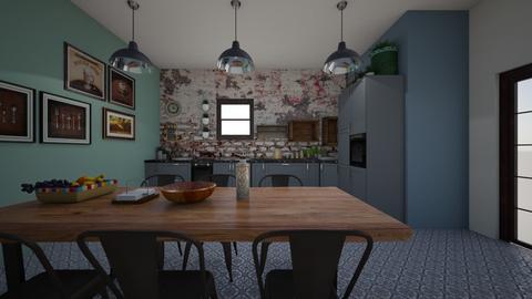 kitchen - by leo435