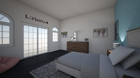 Master Bedroom - Bedroom - by Clairebear08