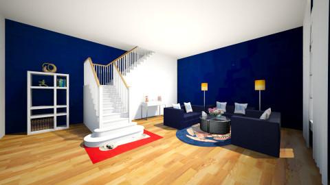 blue - by nida