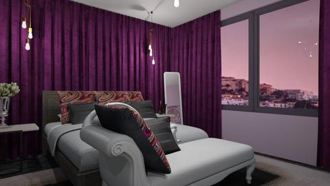 Ibiza hotel room - Bedroom - by CCPompey