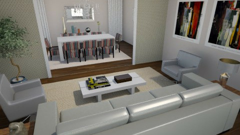 khjjh - Living room - by julianadm