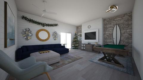 gameroom - Living room - by dena15