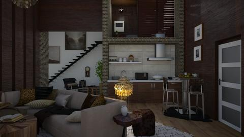 flat with second floor - by i l o n a