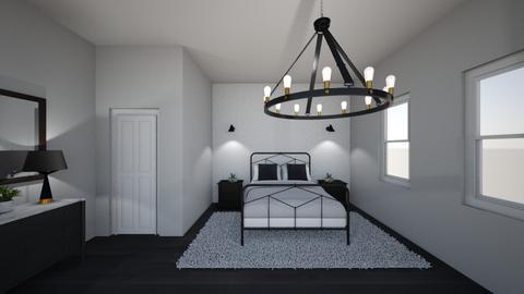 modern bedroom - Bedroom - by SarahJalufkaDesign