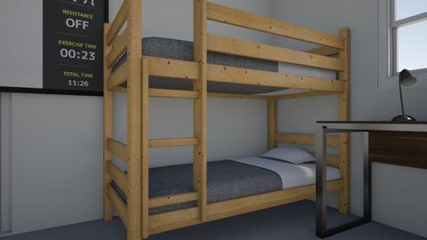 Bunk Bed Room design - Bedroom - by jeanrcarlosrosario21