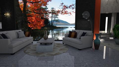 Last week of Summer - Living room - by Sue Bonstra