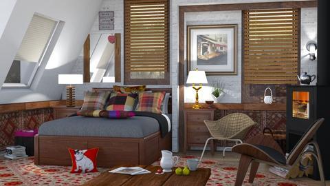 M_Eclectic bedroom - Eclectic - Bedroom - by milyca8
