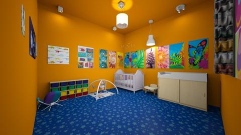 babies room - Country - Kids room - by the ice magical unicorn