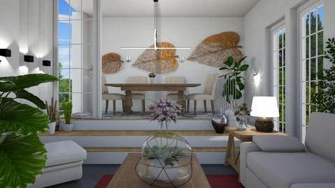 Living room and Dining - Modern - by Sue Bonstra