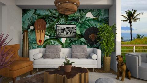 leafs - Living room - by yulamalina