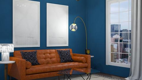 dark blue - Living room - by ccassidyyevvanns