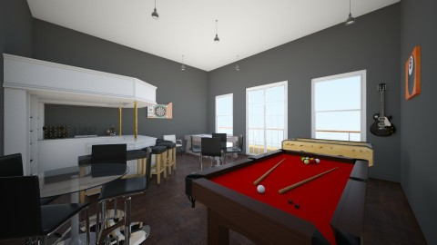 Games Room USA - by MaisieTang