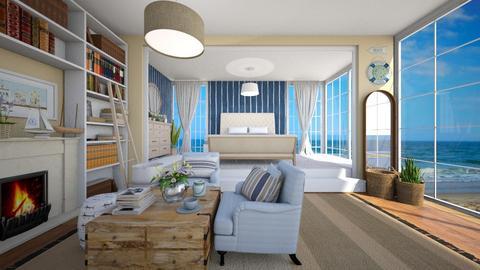 Nautical - Bedroom - by anamarijag00