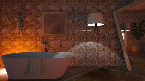 M_ D - Bathroom - by milyca8