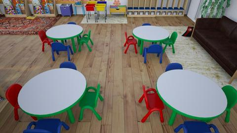 tables and chairs - by pachy