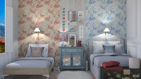 Guest bedroom - Vintage - Bedroom - by augustmoon