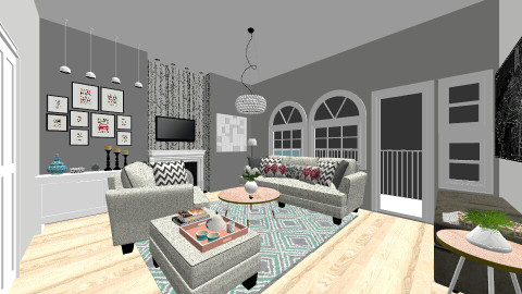 House 1 Living Room - Modern - Living room - by Leticia Camargo_175