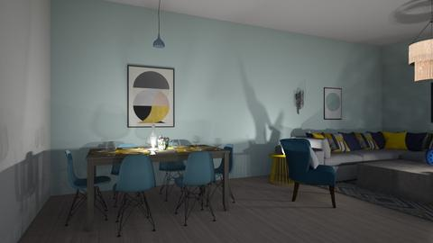 10102019 - Living room - by chaimae saidoun