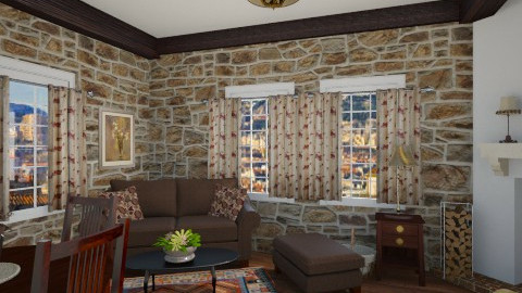 133 - Country - Living room - by GALE88