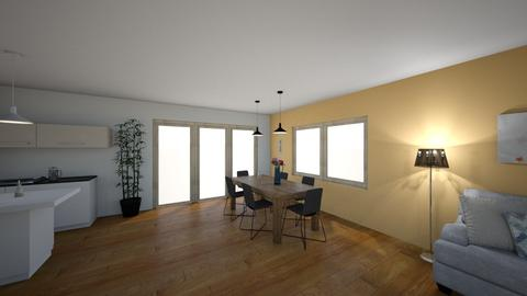 Dvere 3x100 okno 110 - Classic - Dining room - by NoMercy