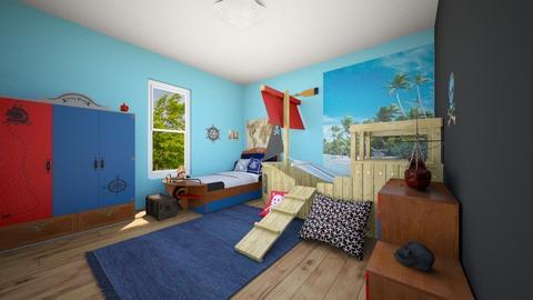 Pirate Bedroom - Kids room - by SammyJPili