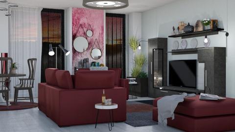M_Claret - Living room - by milyca8