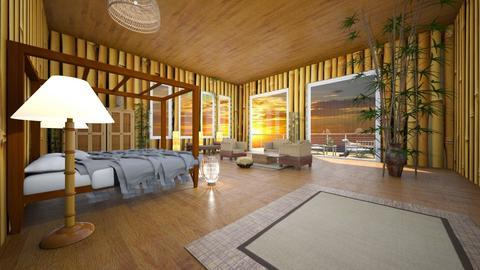 bamboo beach room - Bedroom - by shelleycaitlin