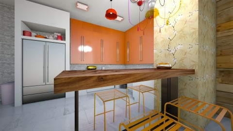 Ho ho - Kitchen - by The quiet designer