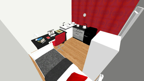 Future Dorm - Modern - Bedroom - by _aha_madi