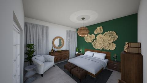 Bedroom Design - Eclectic - Bedroom - by safonovaIDT